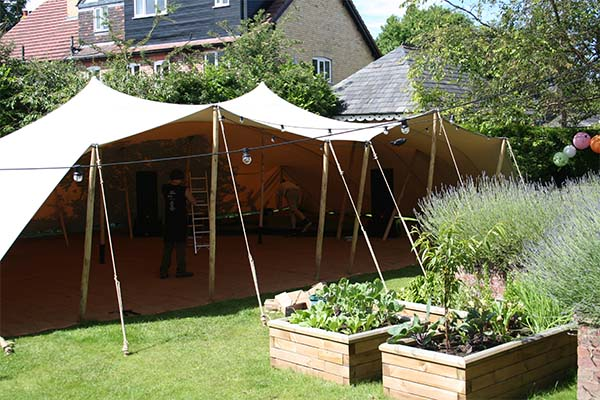 stretch tent hire Leeds stretch marquee leeds