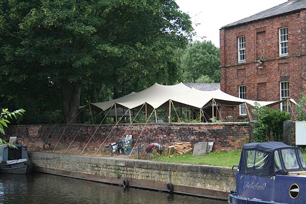wedding venue suitable for a marriage in a stretch tent