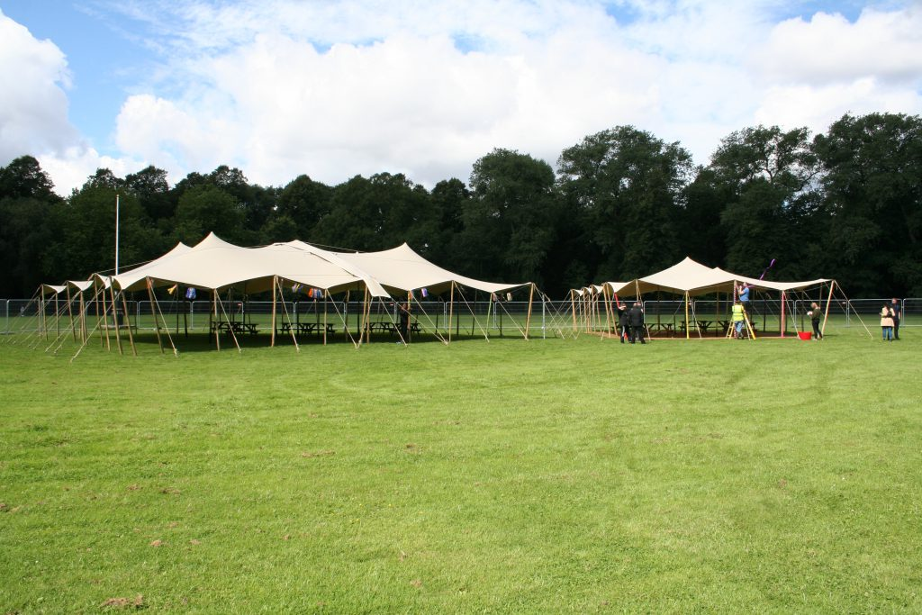 corporate stretch tent hire north west alexandra park stretch marquee hire Manchester
