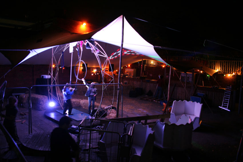 stretch tent hire leeds club night cover extra capacity for event space stretch tent hire UK