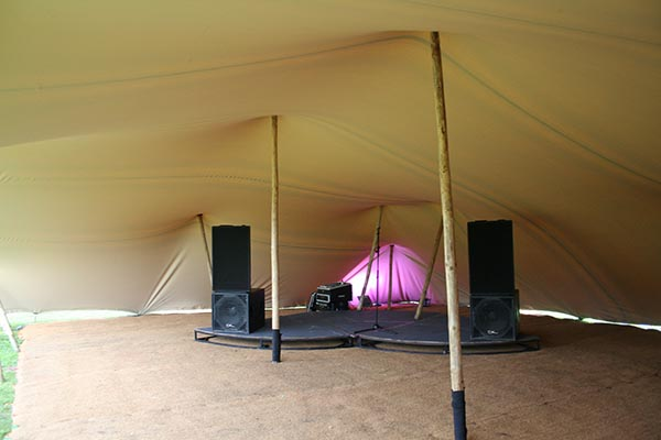 Nelson Lancashire stretch tent hire wedding party stretch tent rental flooring stage soundsystem