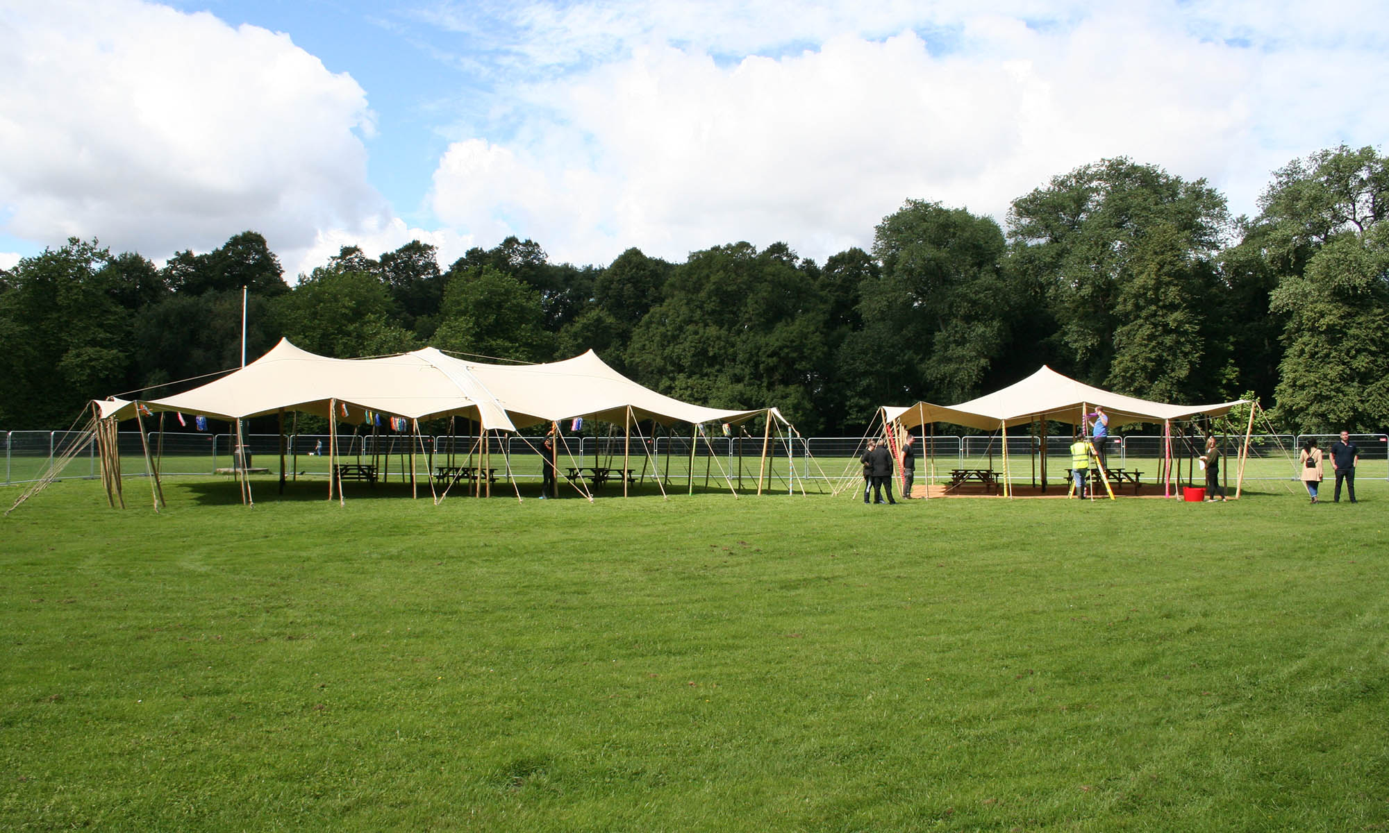 Autotrader staff party stretch tent hire manchester alexandra park corporate fun day stretch tent hire manchester