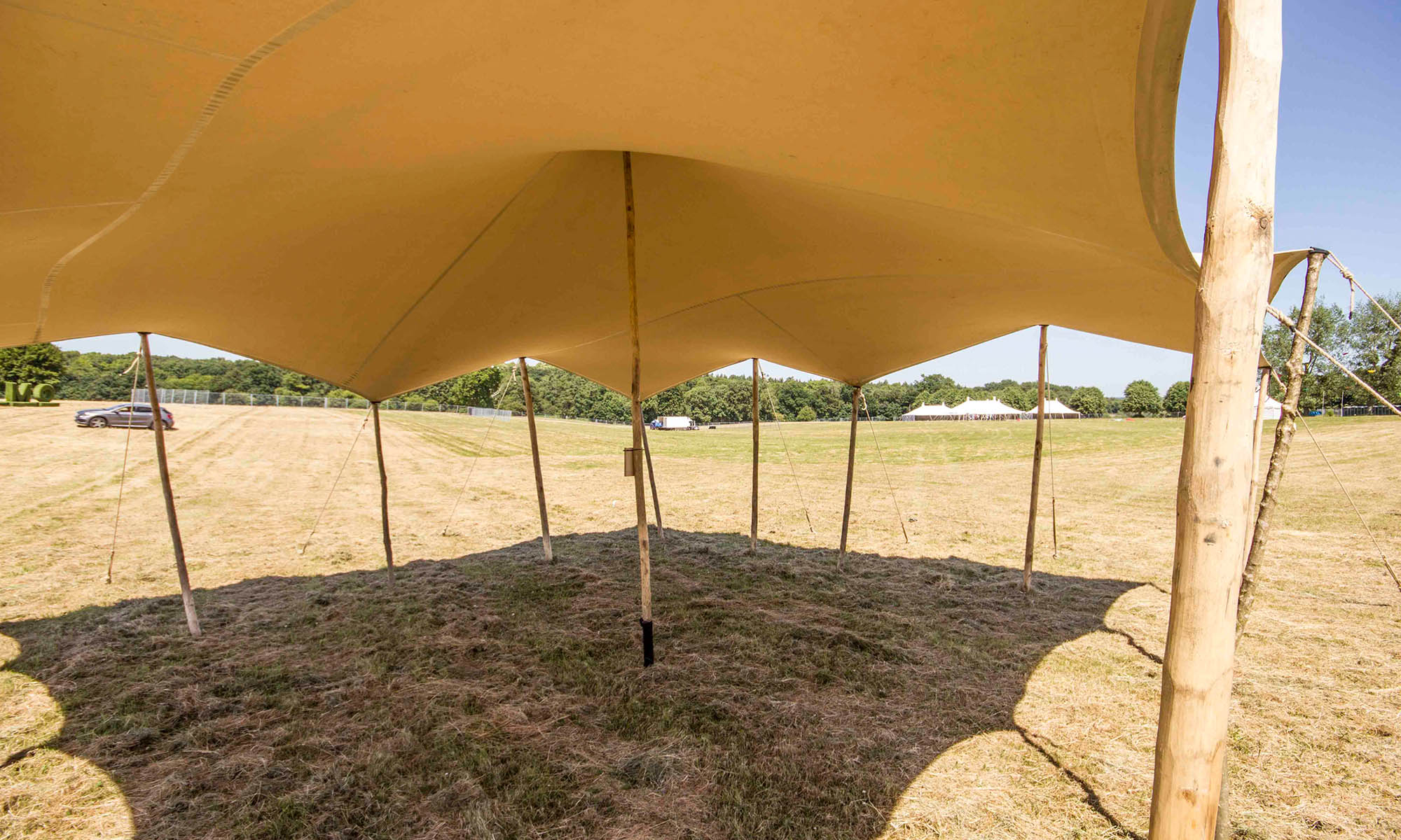 Stretch Tent Canopy Inside
