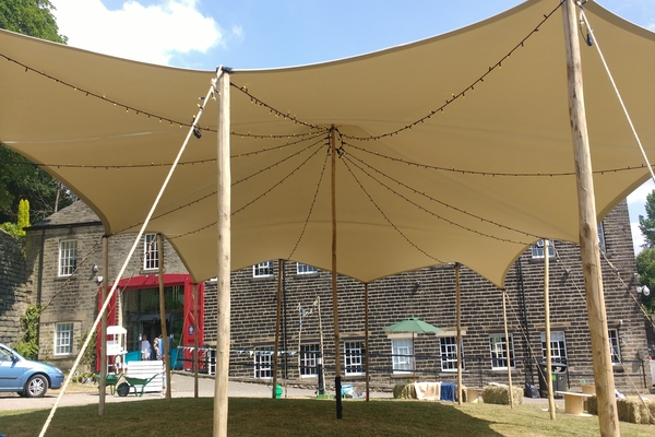 stretch tent hire marsden west yorkshire huddersfield stretch marquee hire canopy stretch tent standedge tunnel licensed wedding venue