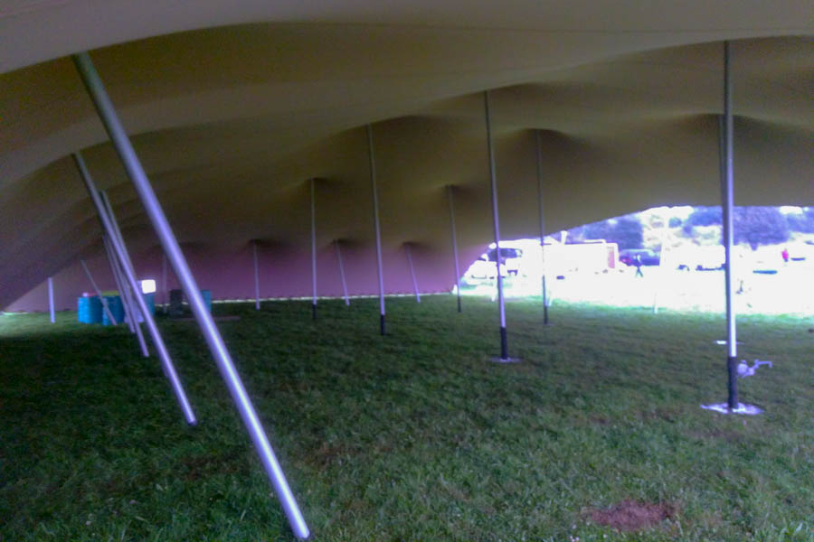 20x30m extre large stretch tent for corporate staff festival derbyshire stretch tent hire 2 sides down on a corporate stretch tent rental in derbyshire flexible set up stretch marquee